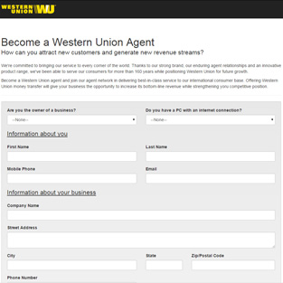 Western Union - Become An Agent